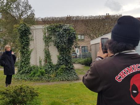 Wij zijn Woortmanplein - New Street Art Project for 5 May 2019