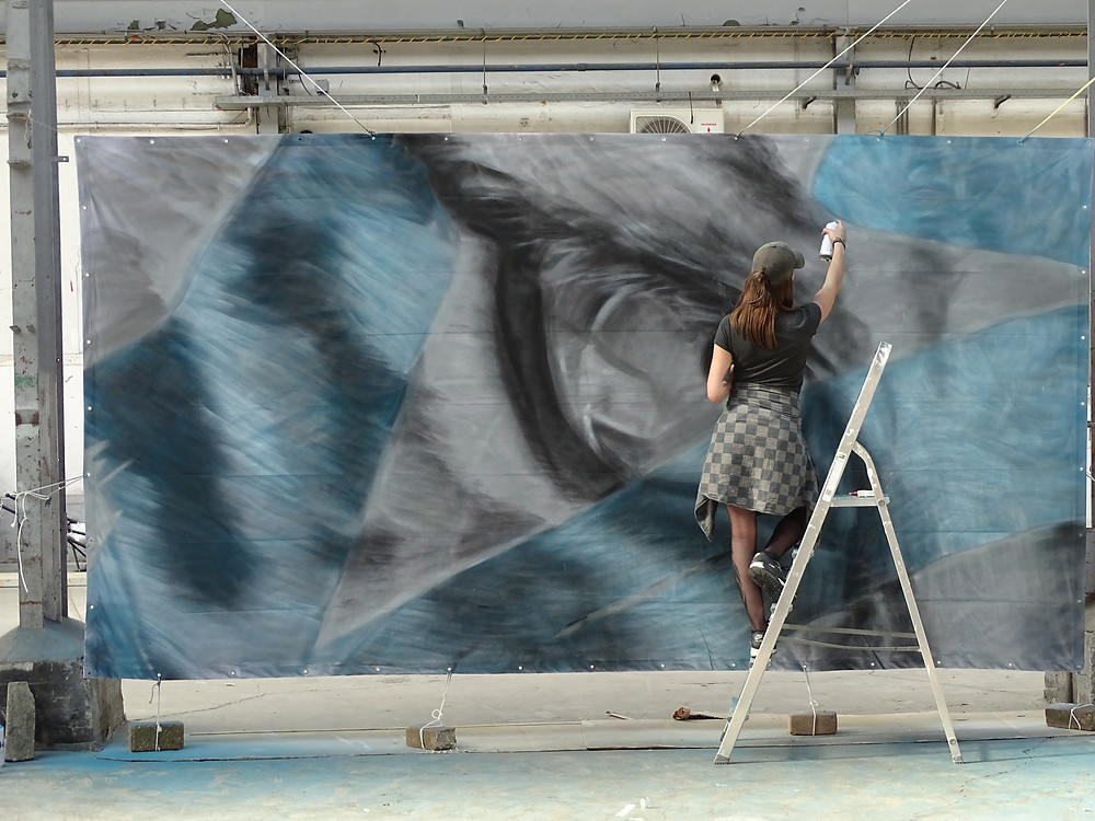 JDL Street Art for Street Art Museum Amsterdam iProtectTigers