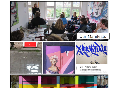 The New Website of Street Art Museum Amsterdam