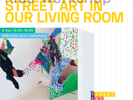 Street Art in our Living Room - Kids Workshop