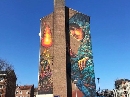 Bastardilla's MEMORIES Becomes The Largest Mural in Street Art Museum Amsterdam Collection
