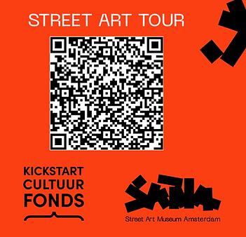 Street Art Tour IZItravel app in Nederlands