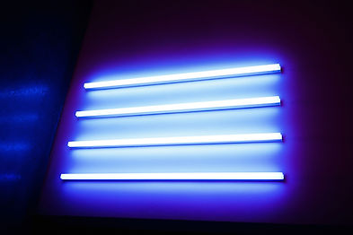Neon Lights depicting light beam generator therapy