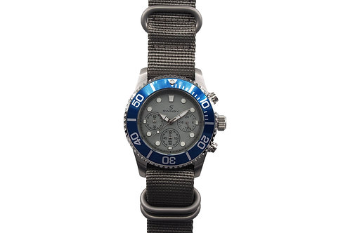 Deep Sea Octopus Wrist Watch Grey Nylon Strap Version