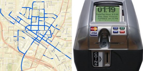 WRAL Reports Bull City to Start Charging for Downtown Street Parking