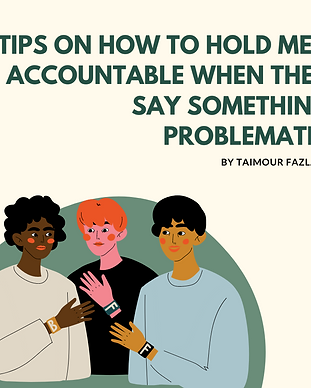 TIps On How To Hold Men Accountable When