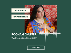 Voices Of Experience : Episode 1 - Season 2 - Poonam Dhuffer