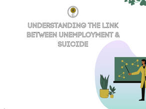 Mental Health In Stats : Understanding the link between unemployment & suicide