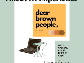 Voices Of Experience : Episode 12 - Dear Brown People