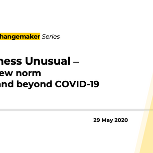 QED Changemaker Series goes online this 29 May