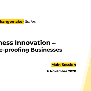 QED Changemaker Series returns this 6 Nov