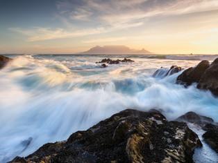 Table Mountain seascape