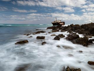 Cape L'Agulus shipwreck