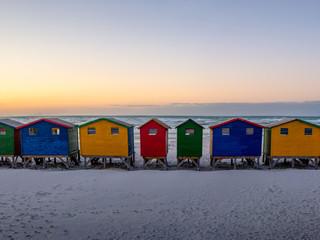 Muizenberg huts
