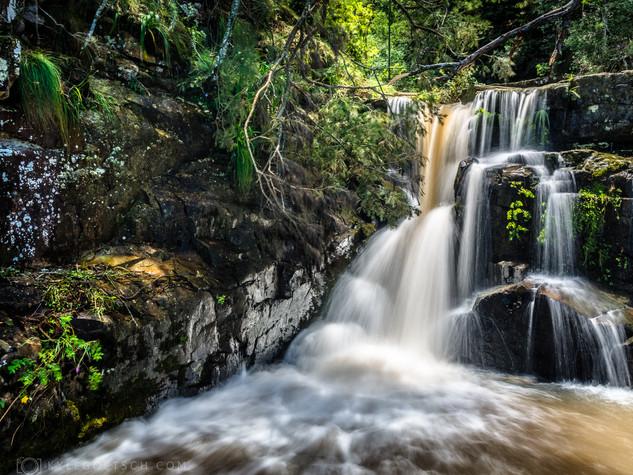 Hogback waterfall
