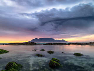 Moody Table Mountain panorama