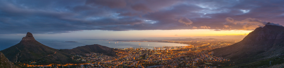 Cape Town city panorama