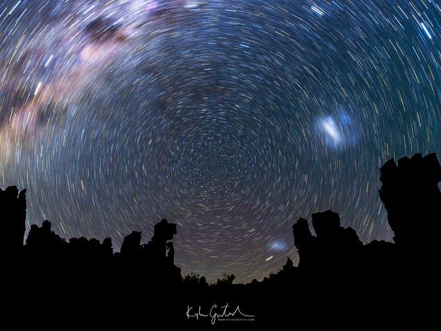 Cederberg star trails