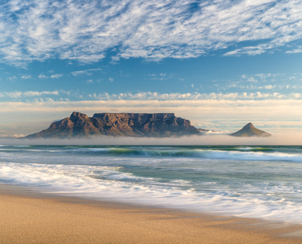 Table Mountain low fog