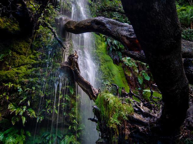 Constania neck waterfall