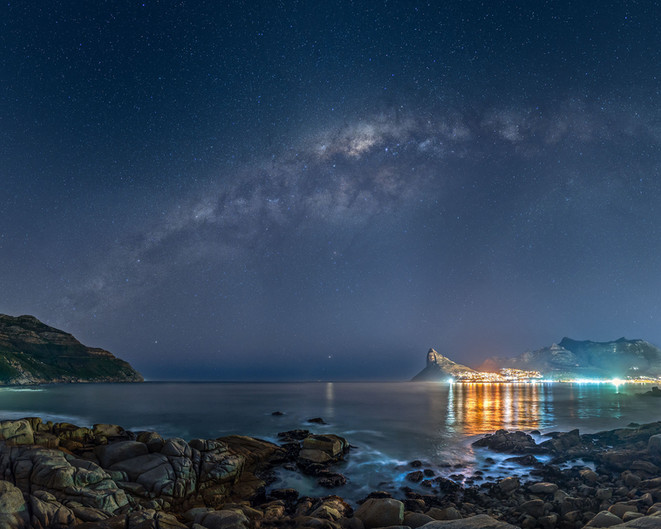 Milky way over Hout Bay