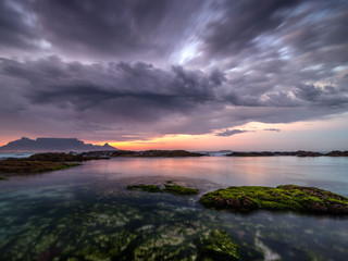 Moody Cape Town sunrise