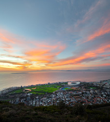 Sunset over Green Point