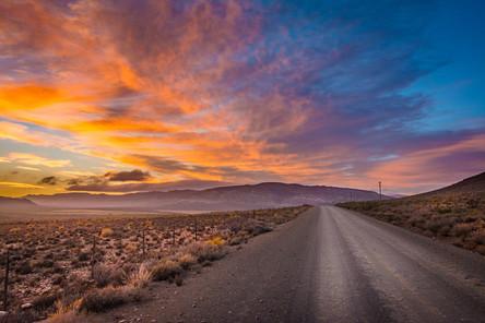 Sunrise at Touwsrivier