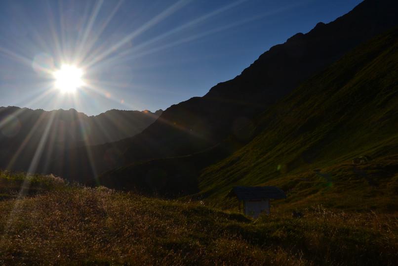 Massif Suisse au petit matin