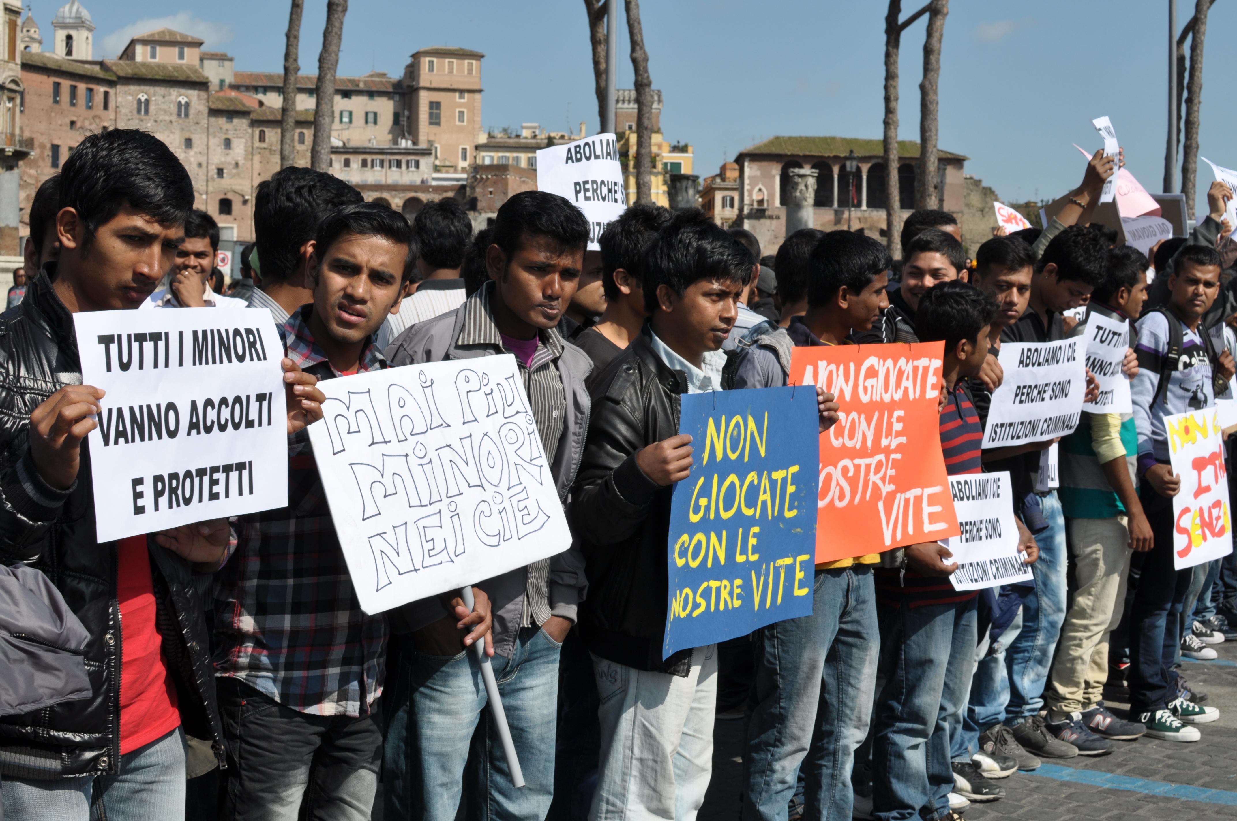 minori stranieri vittime di tratta