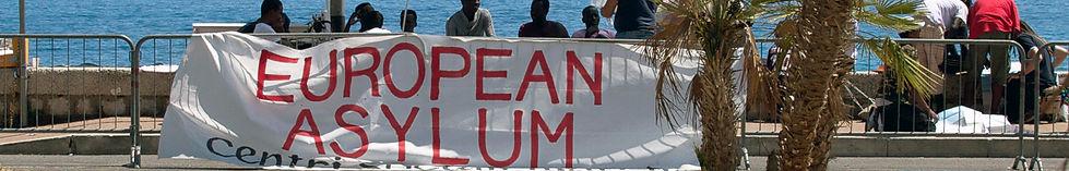 migranti richidenti asilo a Ventimiglia