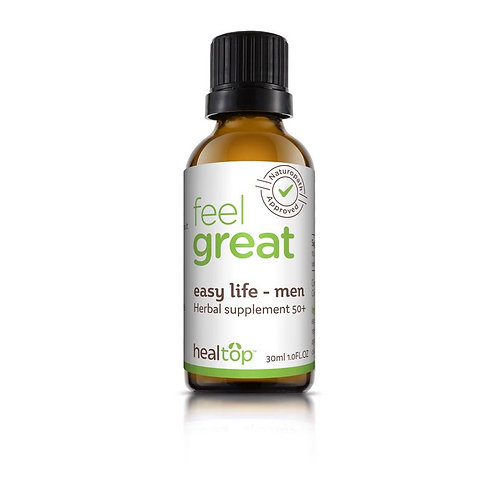 Easy Life - Men, Natural Supplement for Men 50+