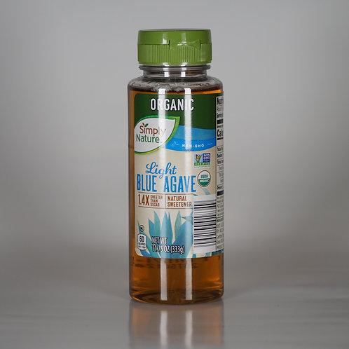 Organic light blue agave natural sweetener