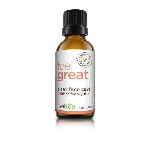 Clear Face Care - All Natural Serum for Oily Skin