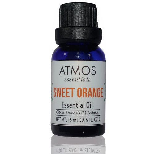 100% Pure Sweet Orange Essential Oil - Citrus Sinensis 15mL