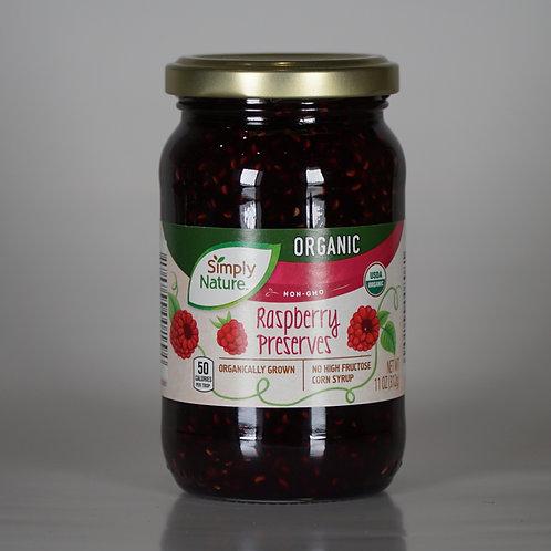 Organic Raspberry preserves