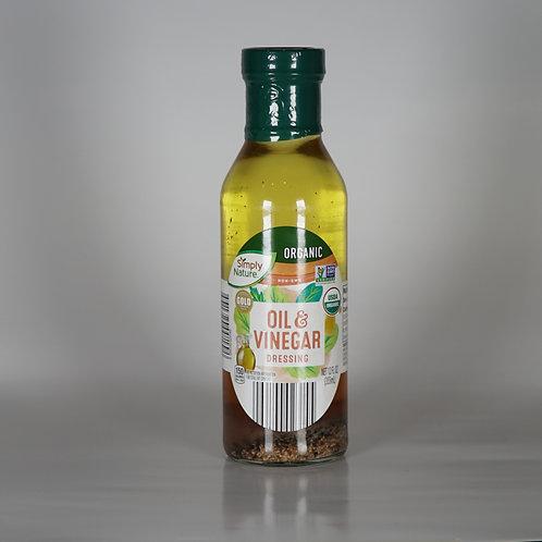 Organic Oil vinegar dressing