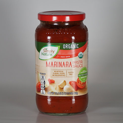 Organic Marinara pasta sauce