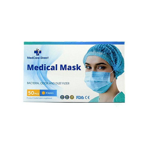 FDA-Certified Medical Mask | 3&4 Layers of Protection | @MedCare Direct