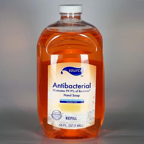 Antibacterial hand soap refill