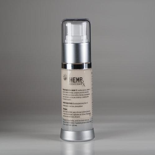 Hemp RX Medicated Cream, Full Spectrum 600 mg CBD – 1 fl oz (30ml)