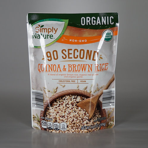 Organic Quinoa and Brown Rice