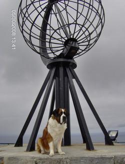 Larissa am Nordkap