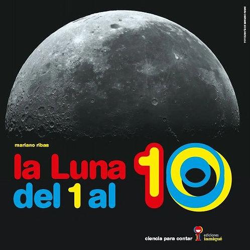 La luna del 1 al 10