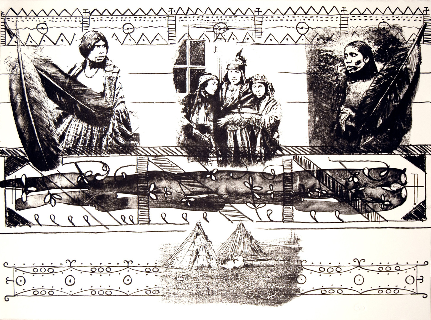 Mi'kmaq Women of The French Shore. 1996