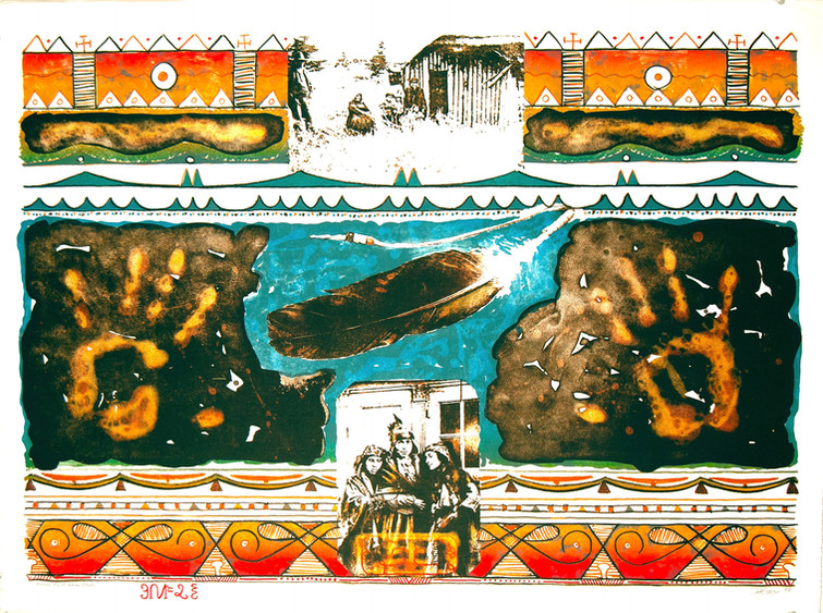 I Honour My Mi'kmaq Blood 1997