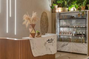 Isabella Marotti, Juliana Monteiro e Viviane Moreno . Lounge Inspirar