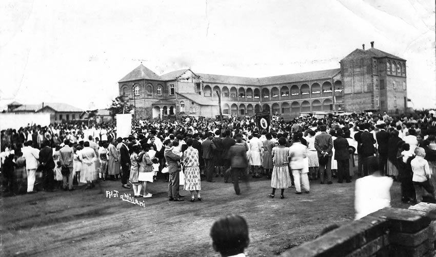 Colégio Imaculada conceição em inauguração. Foto para matéria da Revista Top da Cidade, edição 54 em Itapetininga