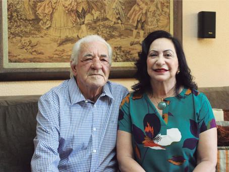 Rosa e João Duarte e a Gratidão