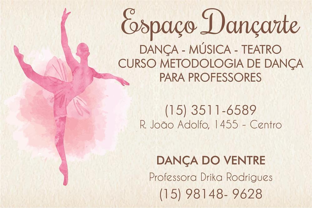 Espaço Dançarte, de Dona Diva, em Itapetininga, na Revista Top da Cidade Edição 54